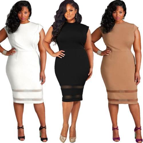 Sexy Hollow Women Plain Bodycon Dresses