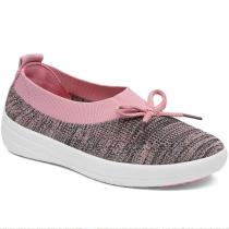 Bow Breathable Mesh Soft Sneakers