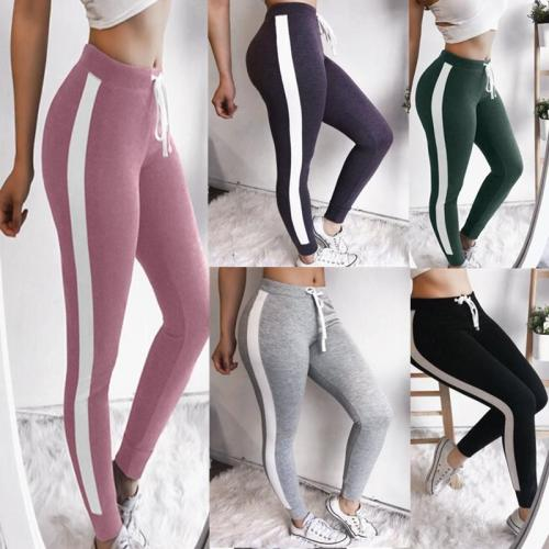 Colorblocked Slim Fit Leggings Pants
