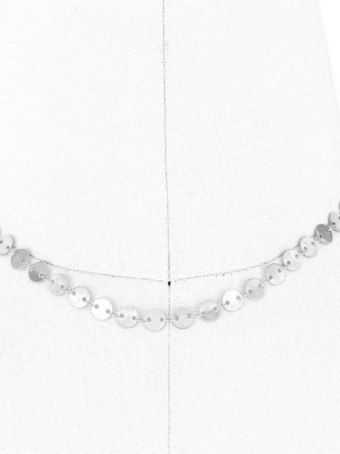 Sexy Three Ways Moon Pendant Long Necklace