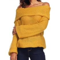 Sexy Strapless Sweater