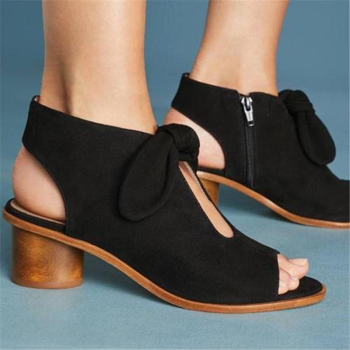 Thick and openwork fashion wild sandals