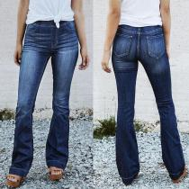 Retro Denim Women Jeans