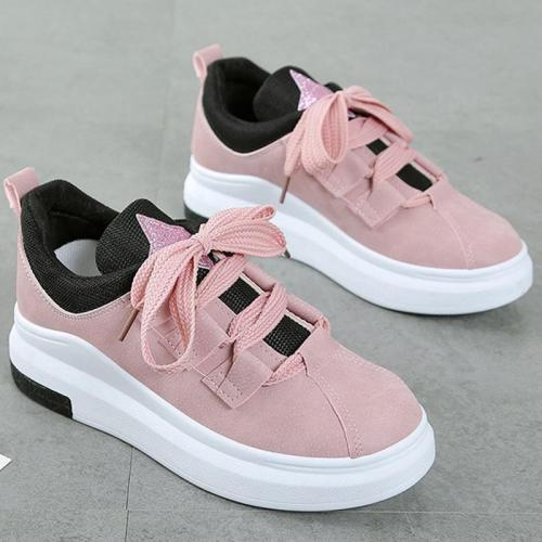 Spring Lace Up Breathable Sneakers
