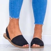 Colors Slip On Espadrilles Flip Flop Plus Size Sandals