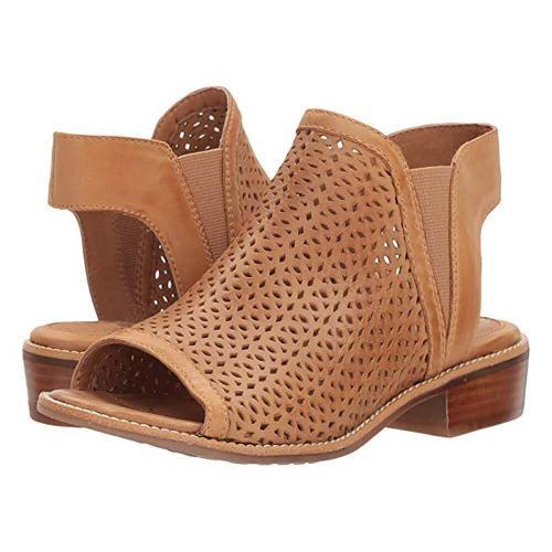 Fashion Retro   Hollow Fish Mouth Sandals