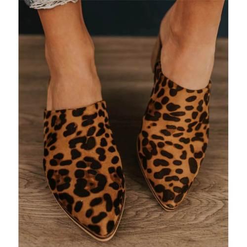 Fashion versatile suede pointed sandals