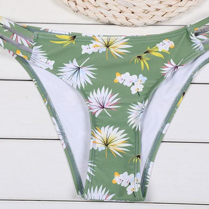 Sexy Cross Halter Swimwear Set