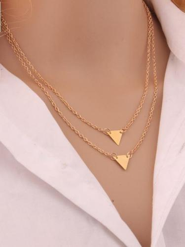 Multilayer Concise Fashion Choker Necklace