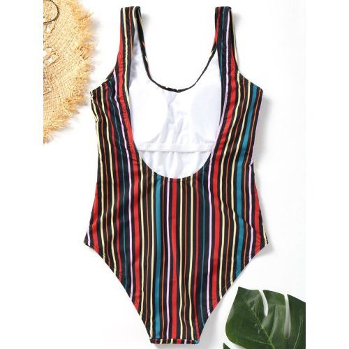 Classic Stripe One-Piece Swimsuit