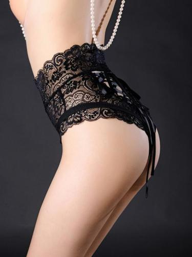 Sexy Nightgown Hollow Panties