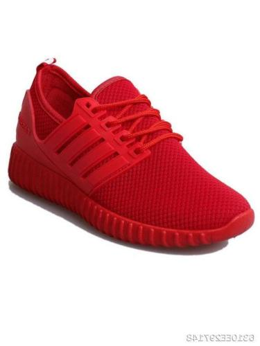 Plain Flat Criss Cross Round Toe Sport Sneakers