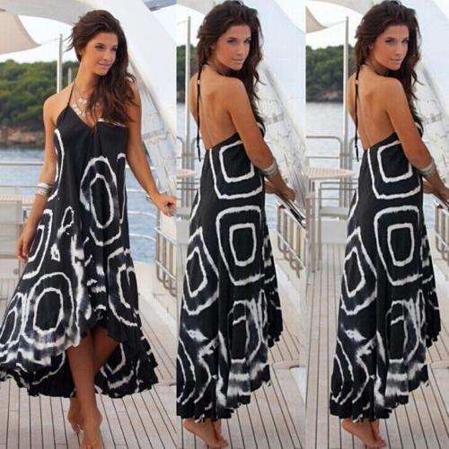 Women Loose Boho  Holiday Maxi-Dress