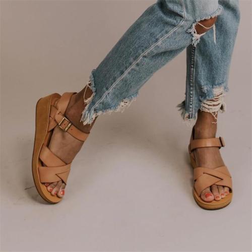 Fashion   Versatile Wedge Sandals