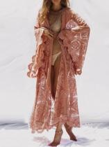 Bohemia Belted Lace Cover-ups Swimwear