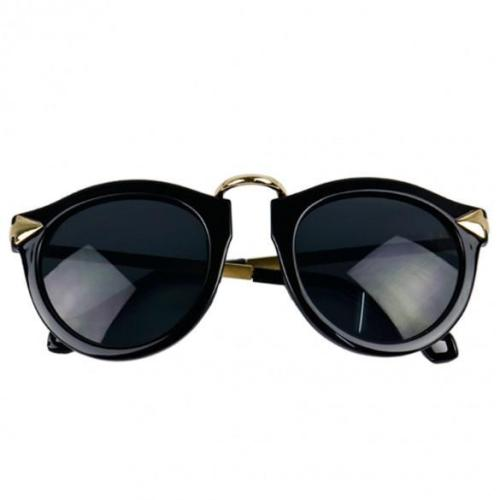Arrow Decorative Plate Frames UV400 Unisex Sunglasses