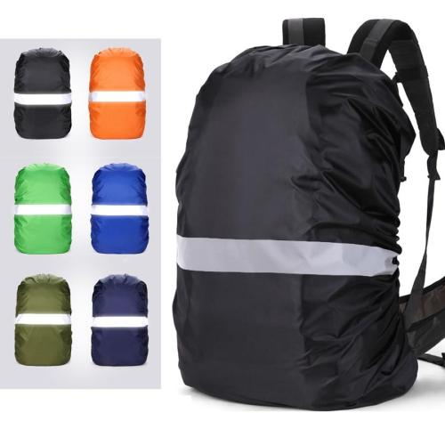 Reflective Rain Cover Backpack 20L 35L 40L 50L 60L Waterproof Bag Camo Tactical Outdoor Camping Hiking Climbing Dust Raincover