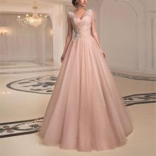 Sexy Tube Top Mesh Evening Dress
