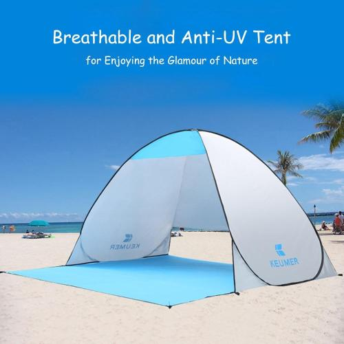 Portable Outdoor Automatic Tent Instant Pop up Camping Tent Travel Beach Tent Anti UV Shelter for Fishing Hiking Picnic