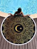 Popular Hot Style Moon Printed Beach Mats