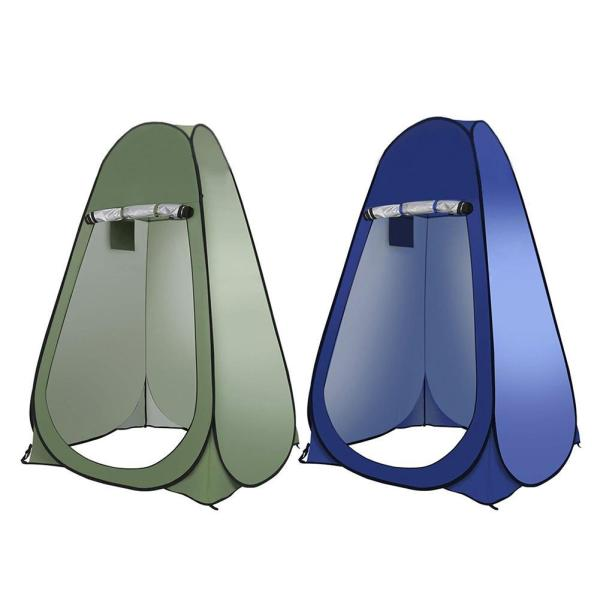 Outdoor Camping Tent Portable Pop Up Privacy Shower Tent Spacious Changing Room For Fishing Hiking Beach Camping Tents