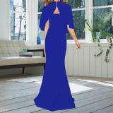 Mop Bodycon Evening Dress Two Piece Set