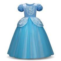 Girls Cinderella Dress Princess Costume Dress up Fancy Party Cosplay Butterfly Dress