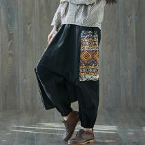 Plus Size Tribal Harem Pants