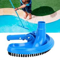 Swimming Pool Suction Vacuum Head Brush Cleaner Half Moon Flexible Swimming Pool Curved Suction Head Cleaning Tool Pool Suction