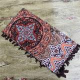 2020 new brand women scarf square cotton shawls and wraps lady pashmina Tassels Bohemia foulard winter female bandana hijabs