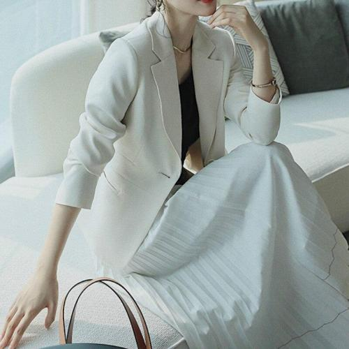 Short Slim-Fit Jacket Women Blazer Fashion Business Wear Korean Small Suit Female Office Blazers Ladies Tops blazers mulheres