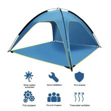 Beach Tent Sun Shelter With SPF UV 50+ Protection Beach Sun Shelter Canopy Cabana For Outdoor Shade Camping Sports Trips Fishing