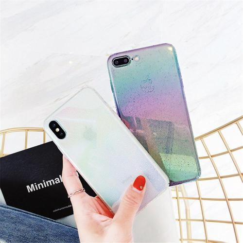 Colorful Glitter Gradient Ombre Rainbow Phone Case