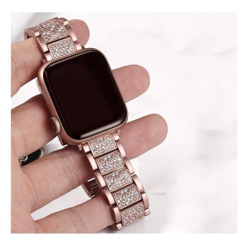 Apple Watch Stainless Diamond Watchband