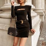 Comfortable Sexy Bodycon Hollow Out  Dress