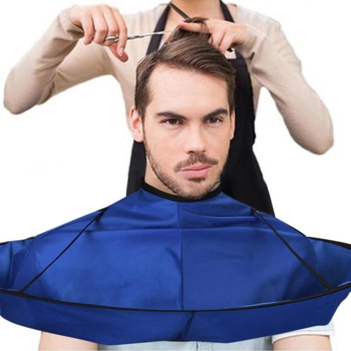 Family Barber Cape Cloak Salon Hair Cutting Trimming Cover Umbrella Haircut Tool Foldable Hair Cape Dropshipping ##5