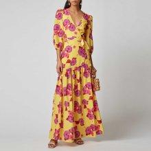 Fashion floral Maxi Vacation Dress