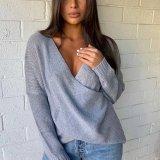 Criss Cross Knit Sweater