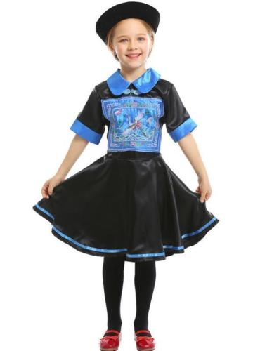 Kids Zombie role-playing Suit Costumes