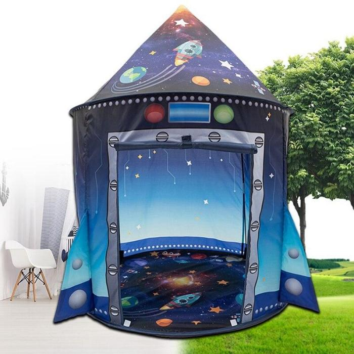 Kids Play Tent Indoor and Outdoor Children's Tent Princess Portable Yurt Baby Toy House Fence Ball Pool Tent for Kids