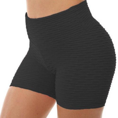 High Waist Sport Gym Shorts Women Quick Dry Workout Shorts Breathable Scrunch Running Training Tight Elastic Yoga Shorts