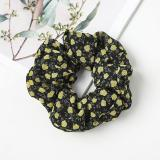 EBUYTIDE Floral Hair Accessories Ladies Women Hair Tie Striped Lady Scrunchies Ponytail Hair Female Girl Holder Rope FC158