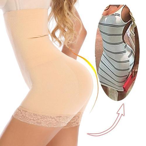 2020 NEW Women High Waist Body Shaper Panties Seamless Underwear Tummy Waist Slimming Shapewear Girdle Belly Control Lace Panty