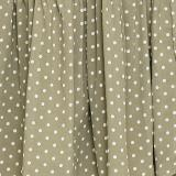 Sleeveless Polka Dot Floral Print Maxi Dress