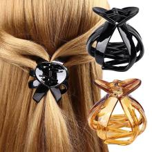 Women Octopus Hair Claw Hairpin Clip Lady Solid Fashion Plastic Styling Tools Hair Clip Hairpin