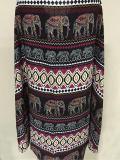 Fashion Bohemia Printed Half Sleeve Shawl Cover-up Tops