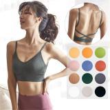 EBUYTIDE Women Sport Bra Breathable Quick Dry Push Up Bra Women Tops Active Wear Seamless Padded Bra Workout Yoga Running Fitness Bra