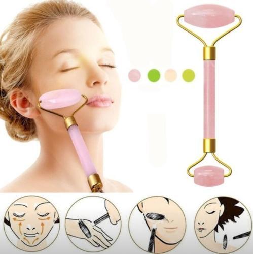 Slimming Face Massager Jade Roller Quartz Skin Care Tools Facial Massage Roller Eye Face Neck Thin Wrinkle Removal Face Lift