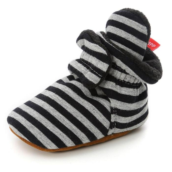 Newborn Shoes Warm Socks Toddler Boots Winter First Walkers Baby Girls Boys Shoes Soft Sole Unisex Snow Booties zapatos bebe