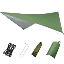 Waterproof Sun Shelter Ultralight Tarp Anti UV Beach Tent Shade Camping Hammock Rain Fly Camping Sunshade Awning Canopy